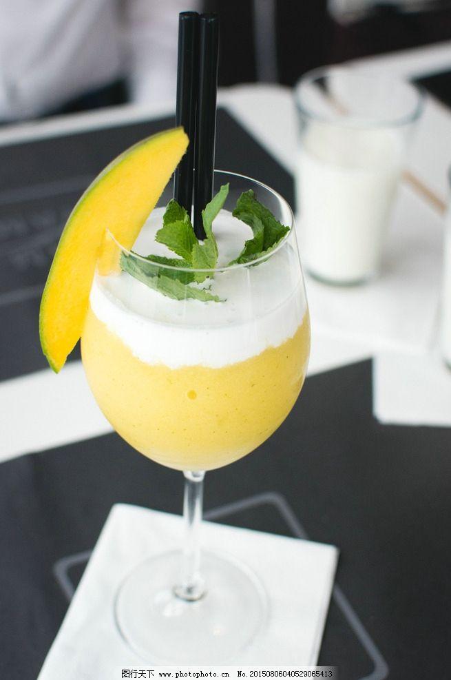 芒果饮料 饮料 果汁 水果果汁 芒果 芒果果肉 黄色 美食 饮品 摄影