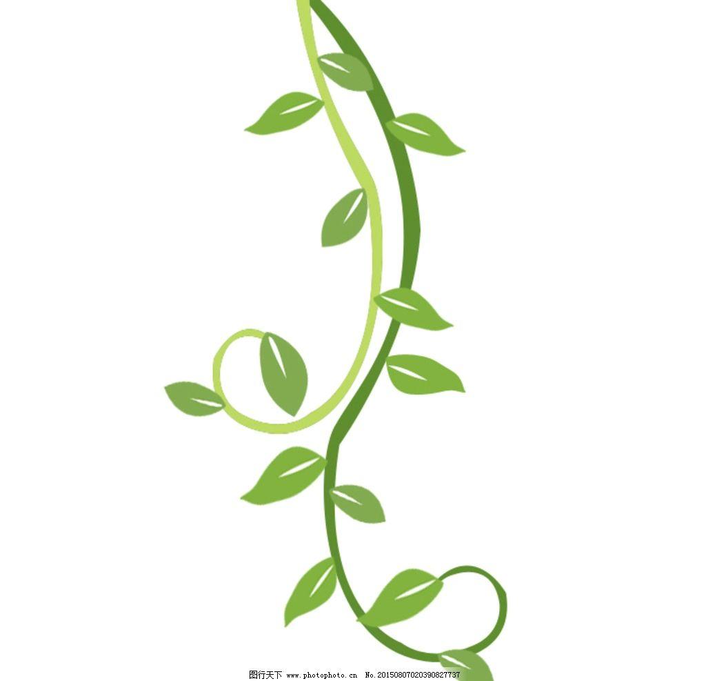 藤蔓花边边框_藤蔓 绿色