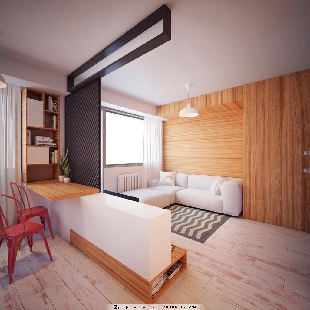 欧式客厅灰色地板砖装修效果图