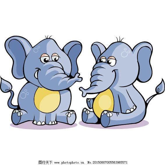 童话作文 黄雀和大象图片