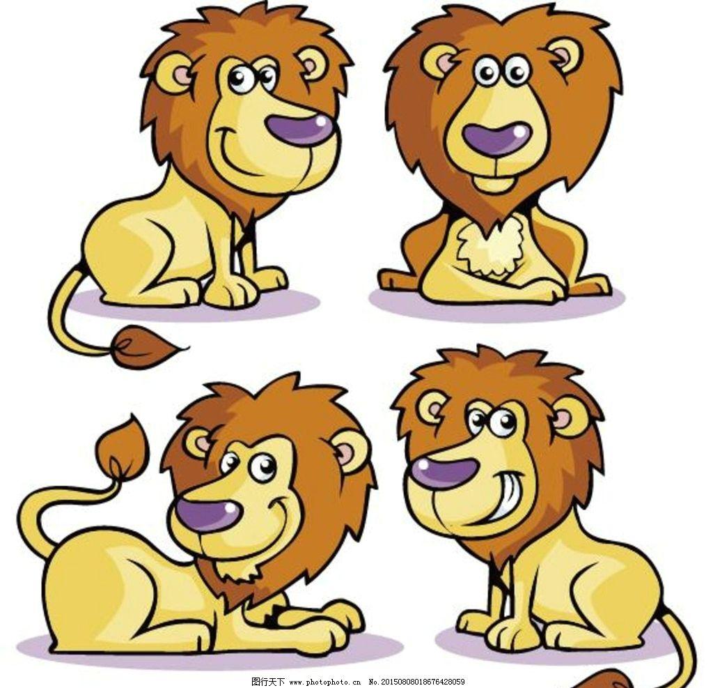 卡通 卡通形象 可爱 动物 漫画 手绘 矢量 动漫 野兽 设计 动漫动画