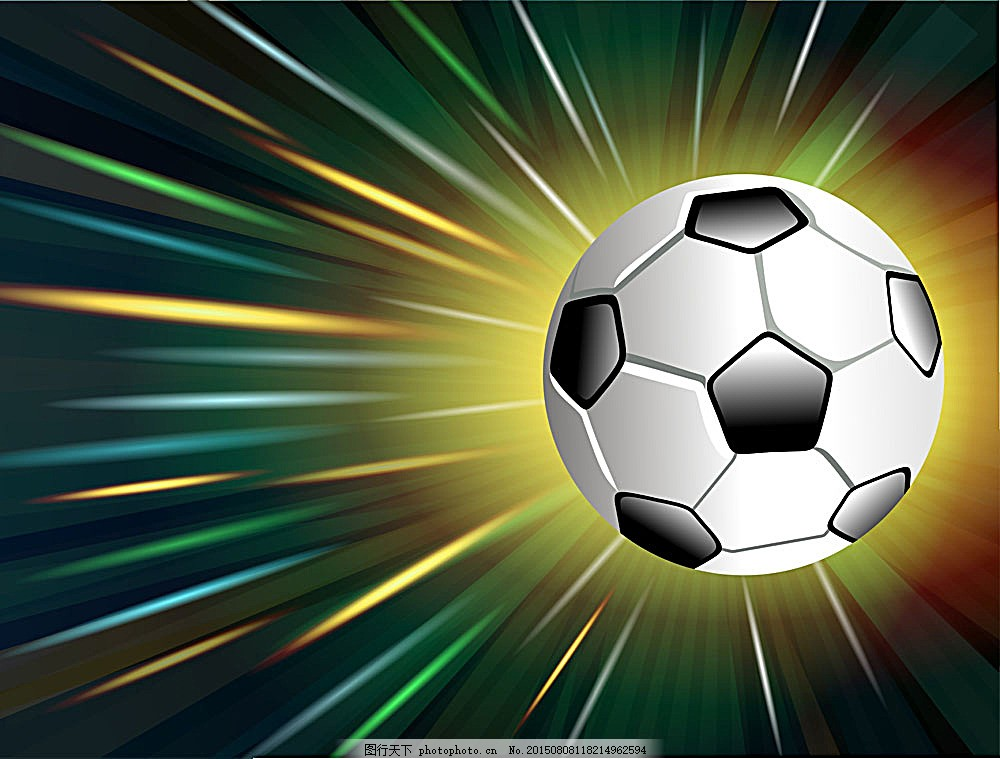 时尚酷炫背景足球海报图片