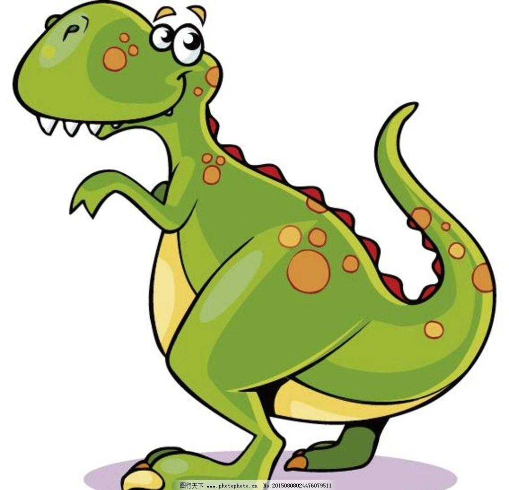 简约动物图片 恐龙