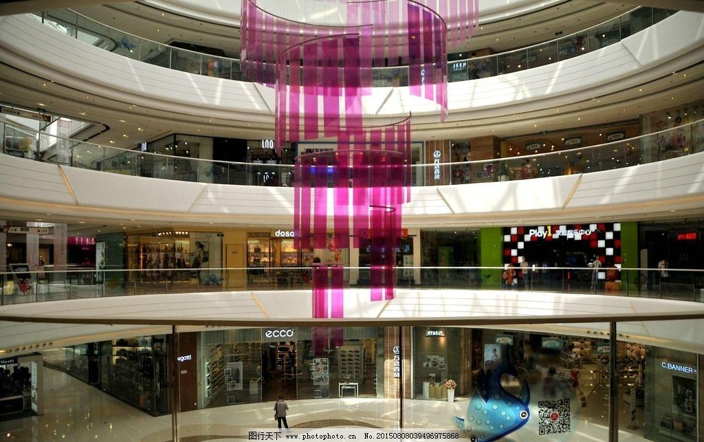商场 购物商场 商场内部景观 万达商场 钢结构 购物大厦 楼 购物 装修
