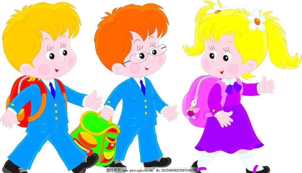 少儿 幼儿园 手绘 小学生 广告牌 卡通 插画 设计 矢量 eps 设计 人