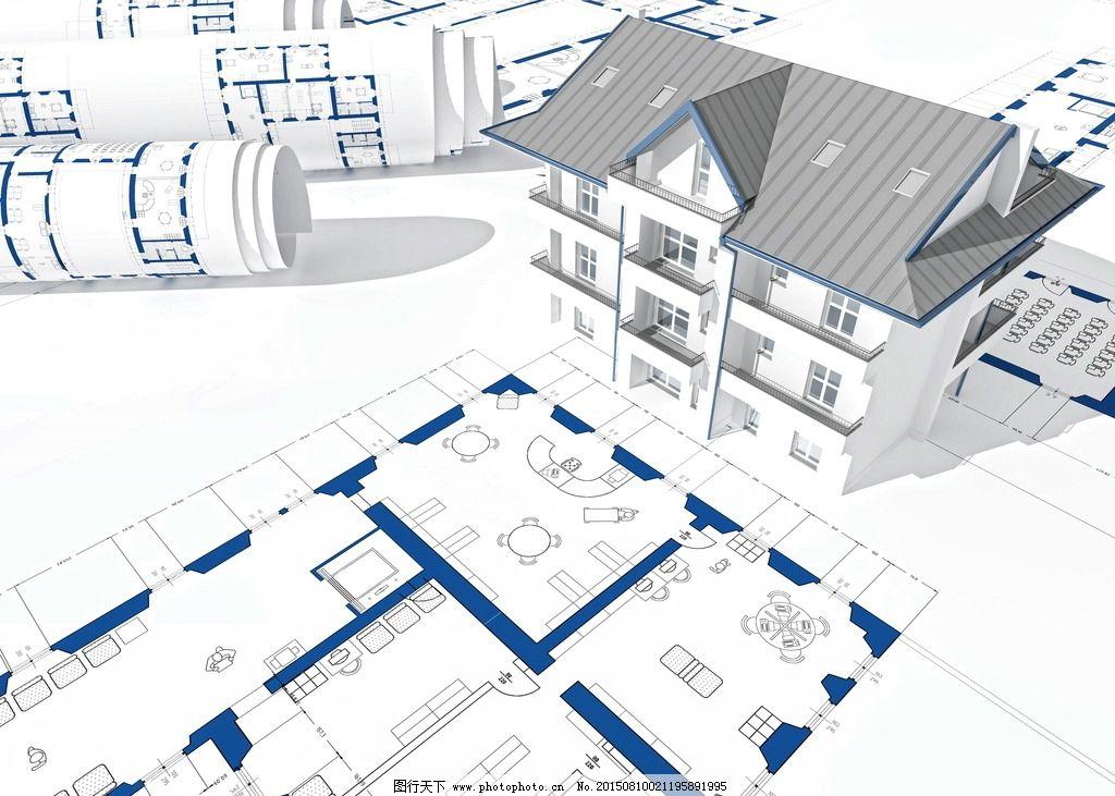 设计图 结构图 建筑图 纸张 纸质 3d模型 3d立体 3d设计 创意设计