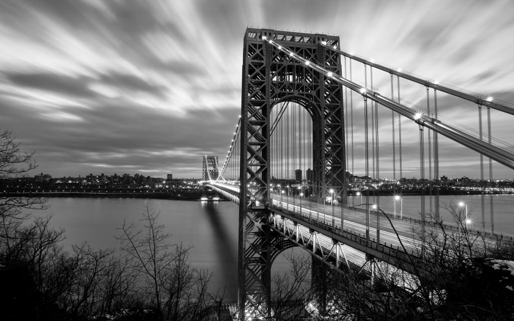 黑白桥免费下载 城市 黑白画 建筑 桥 黑白画 桥 建筑 城市 图片素材