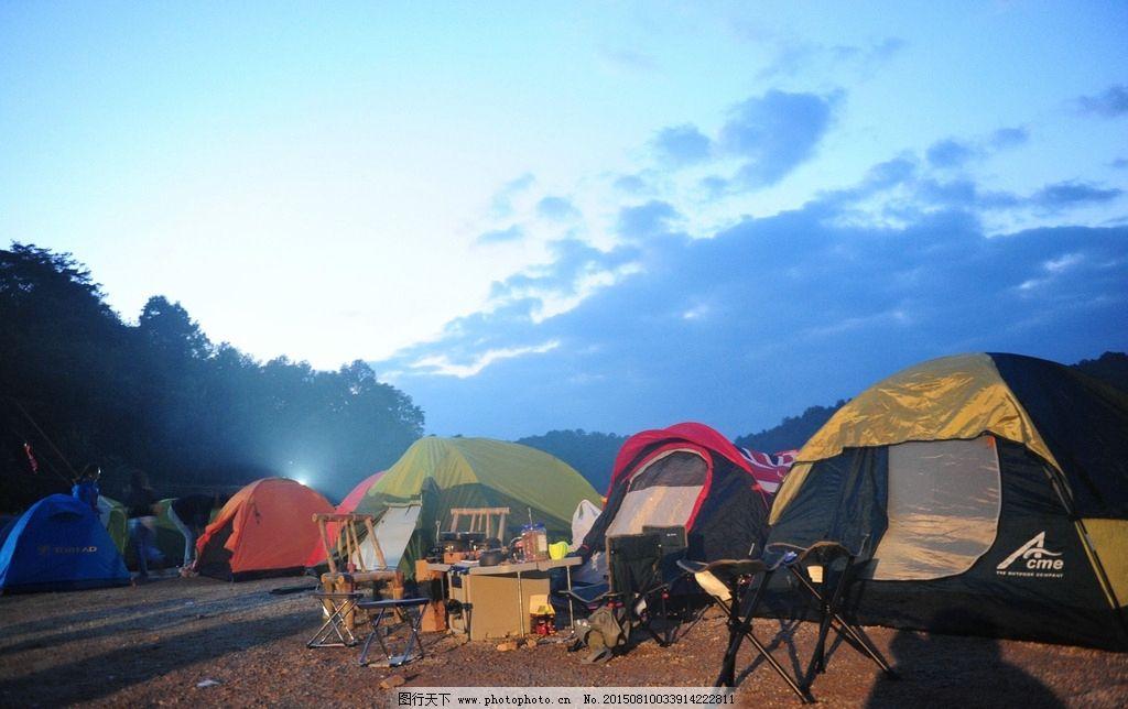 帐篷营地图片_国内旅游
