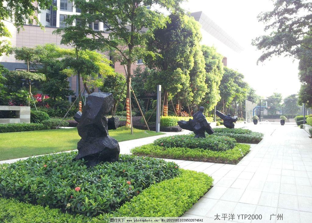 景观雕塑摄影图片