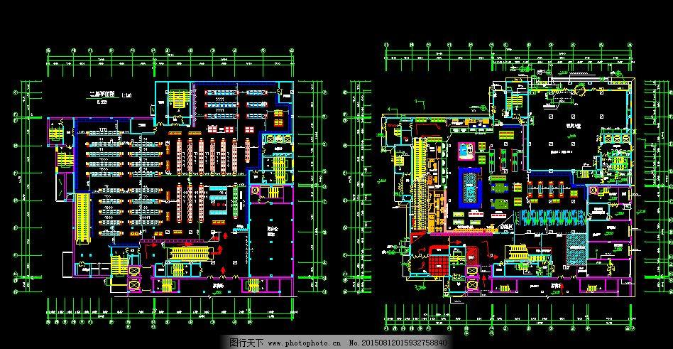 100平方米超市设计图_100平方米超市设计图分享展示