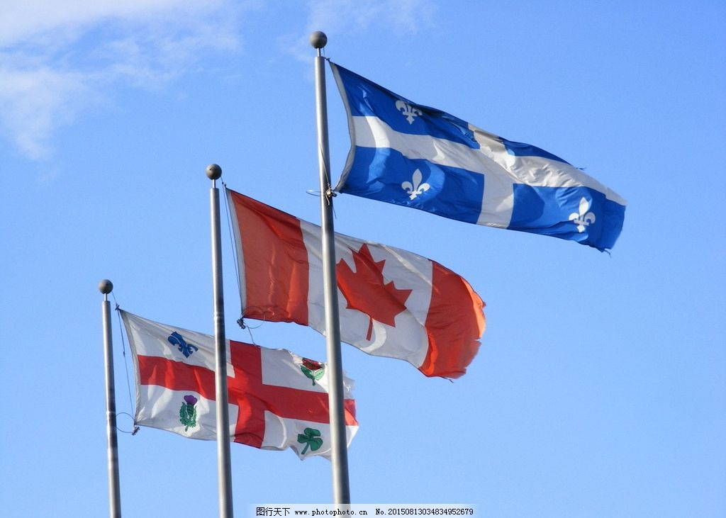 加拿大国旗图片图片