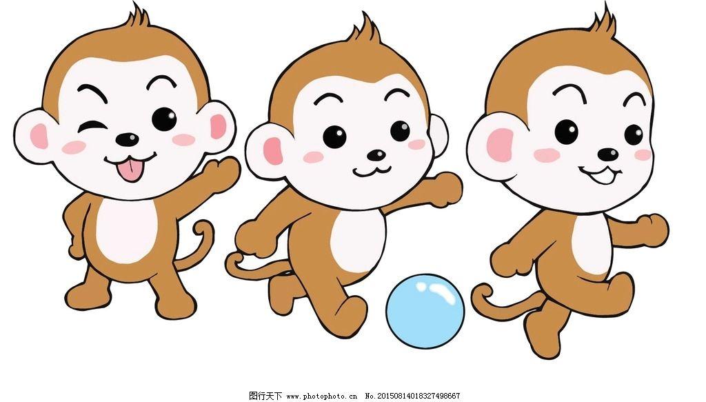 猴子图片,卡通 卡通图片 幼儿园卡 卡通动物 卡通背景