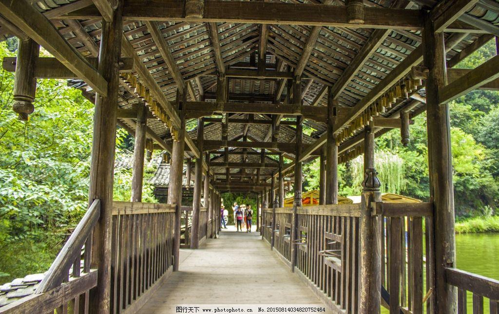 木结构长廊结构施工图