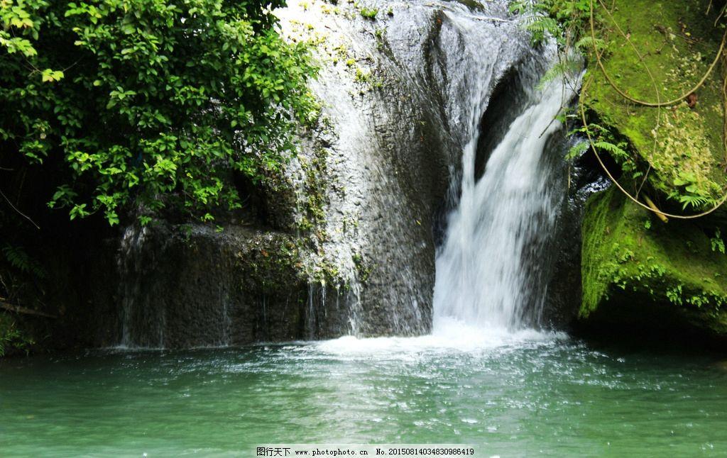 瀑布 瀑布图片 瀑布素材 流水瀑布 瀑布攀岩 瀑布攀爬 瀑布攀登 瀑布