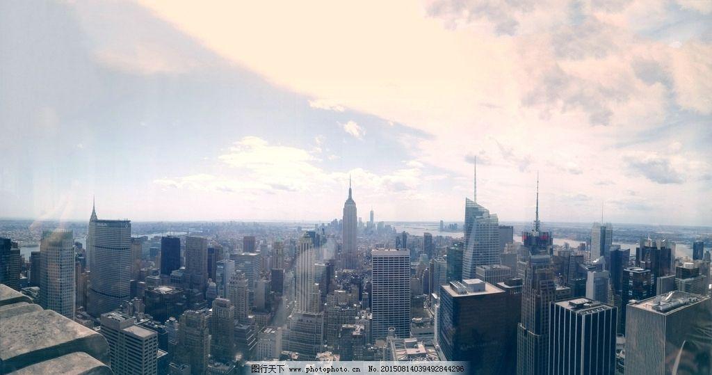 纽约城市建筑群图片