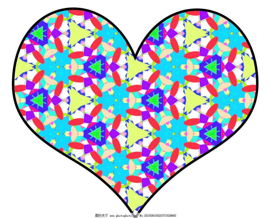 温暖 美丽 可爱 情侣 爱 子女 设计 底纹边框 花边花纹 39dpi png