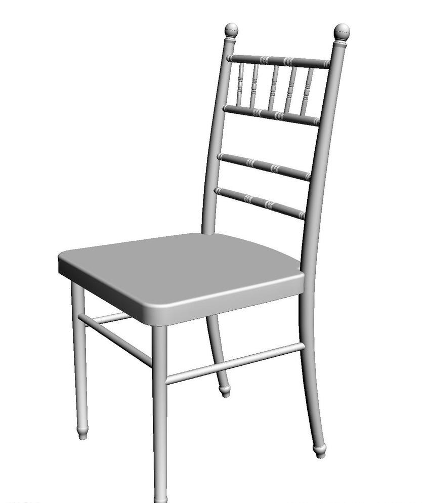 竹节椅 竹节椅图片免费下载 户外 室外模型 椅子 宴会椅子 婚宴椅子