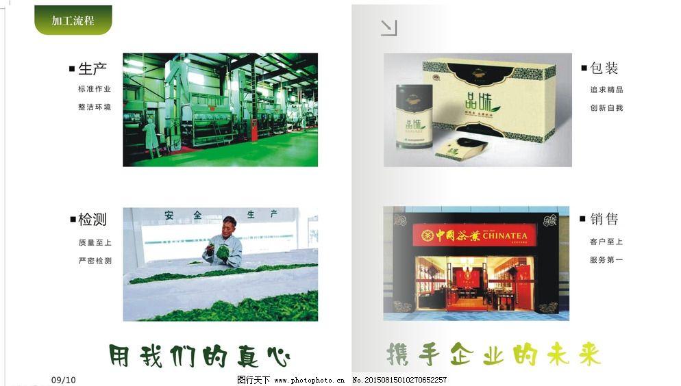 生产车间 茶 环境