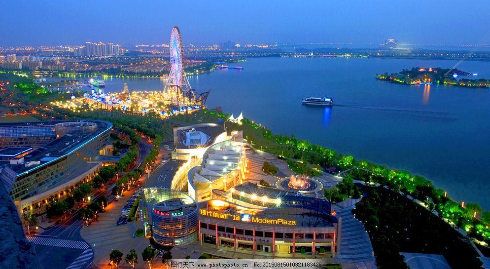 苏州金鸡湖高清
