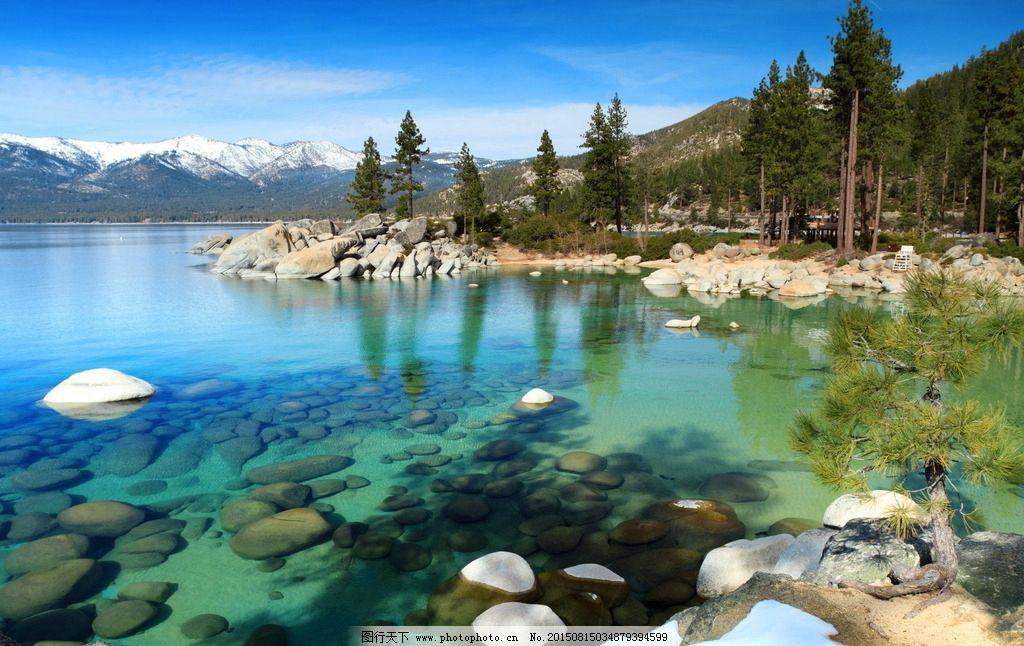 乡村山水风景图片