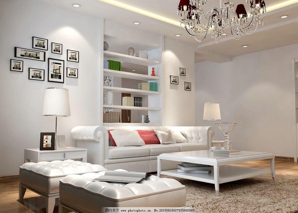 客厅 沙发 背景墙 欧式 简装图片图片