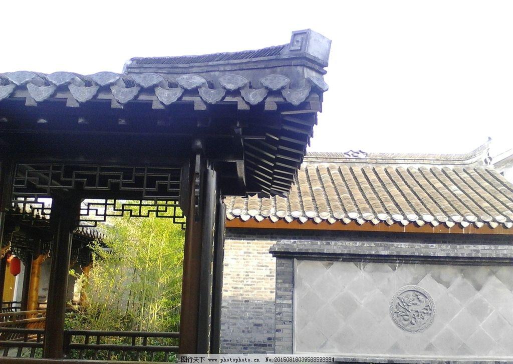 画壁 连廊 建筑 园林 景观 古建筑 摄影 建筑园林 园林建筑