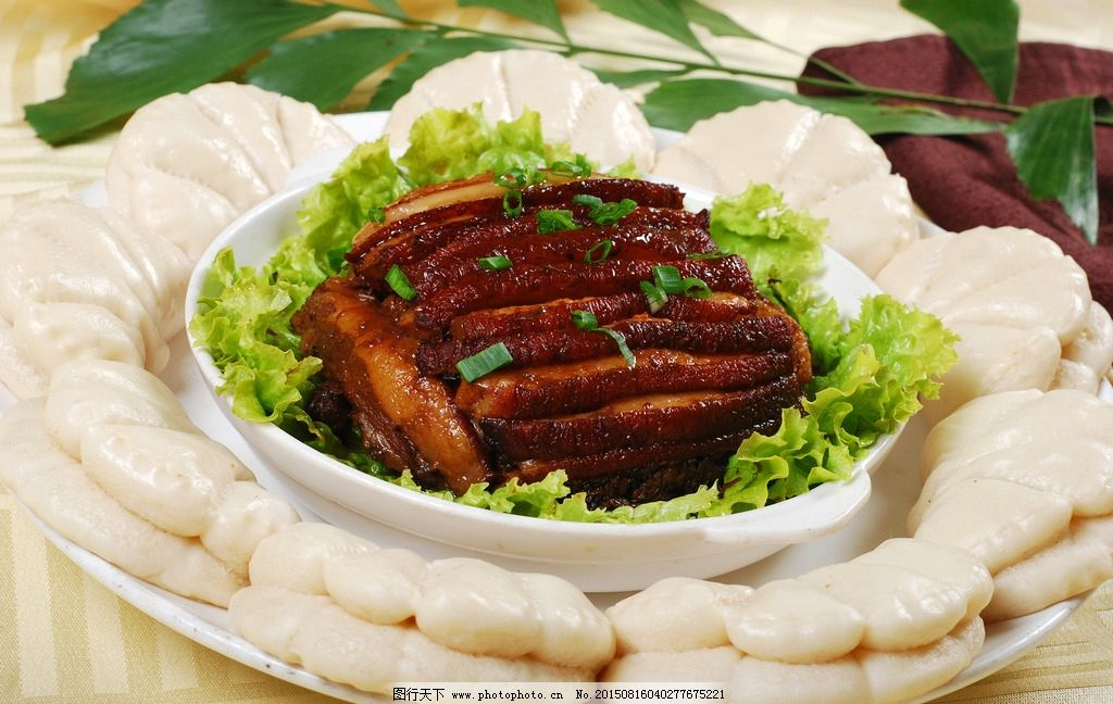 梅菜扣肉 梅菜 荷叶饼