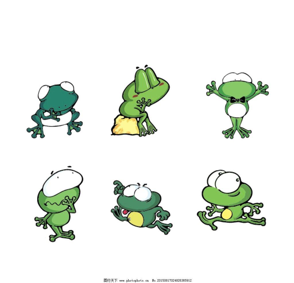电脑手绘 青蛙 极简