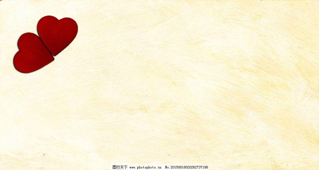 简约淡雅高清壁纸_简约背景 淡黄色 淡雅 红心 爱心 心形 淡雅背景 底纹 模板