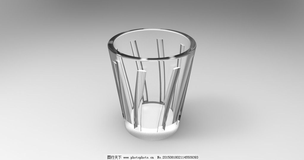 3d手绘水杯画