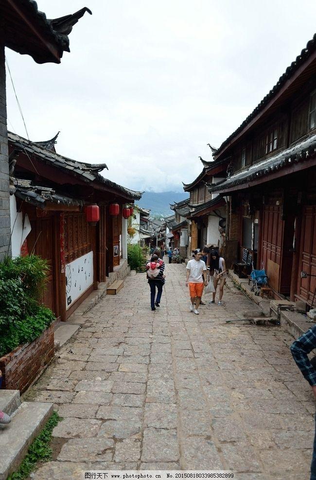 云南小巷手绘风景