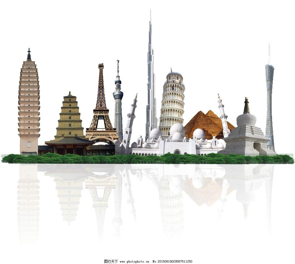 标志建筑 迪拜塔图片