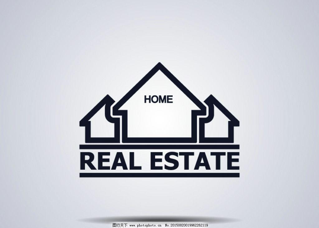 创意房地产标志设计图片