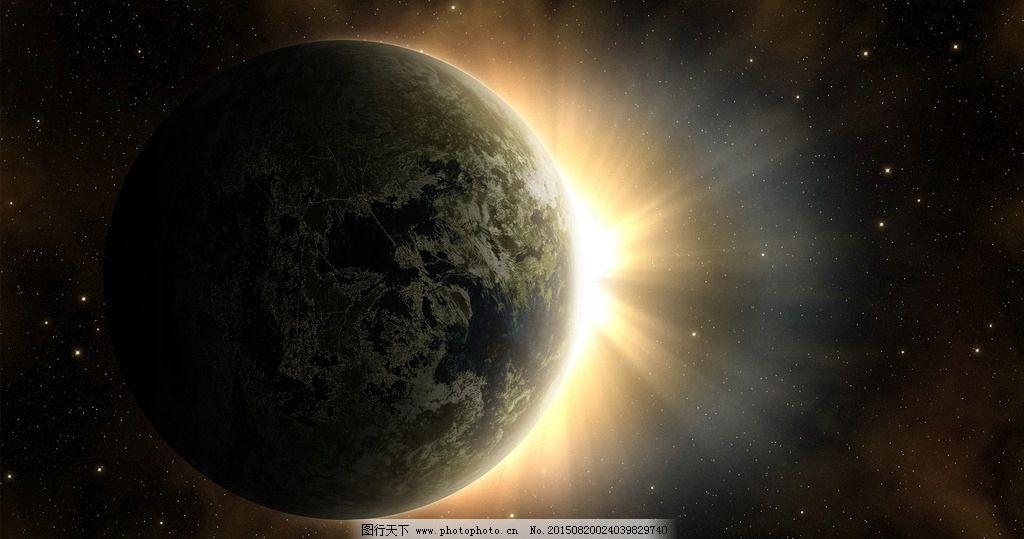 地球 科幻 大气 黑色 宇宙 设计 自然景观 自然风光 72dpi jpg