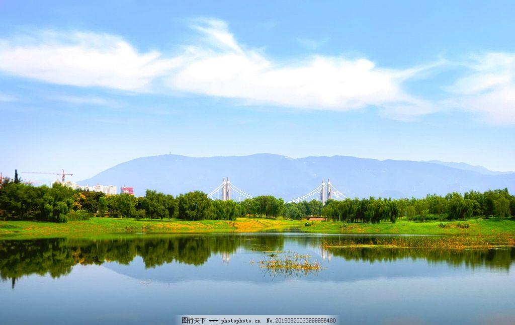 昌平滨河森林公园风景图片