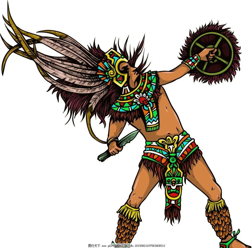 阿兹特克部落图片