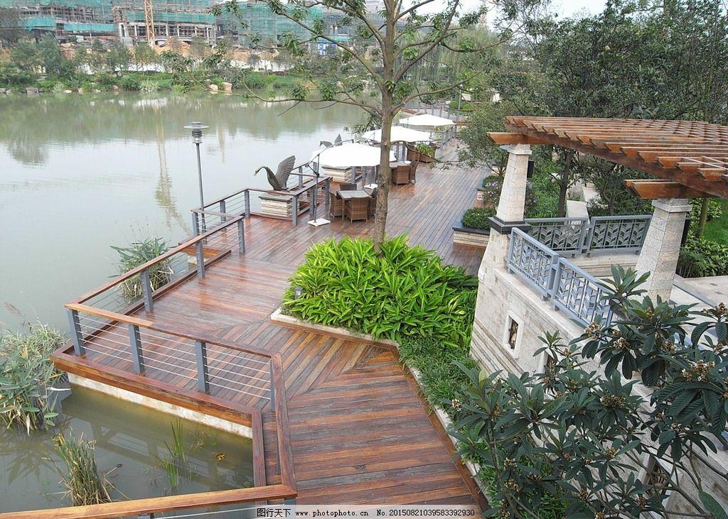 水景 景观 园林景观 地产景观 地产水景 房地产水景 水景园林 摄影图片