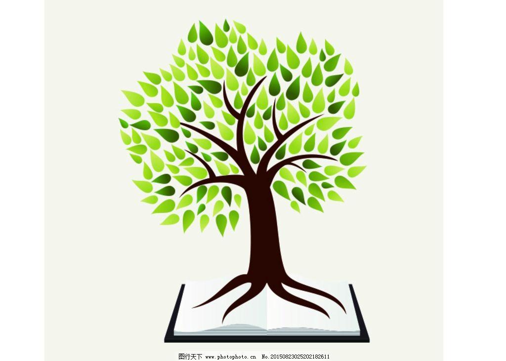 矢量大树 卡通树 创意树 动漫树 手绘树 绿化树木 大树 矢量图合集