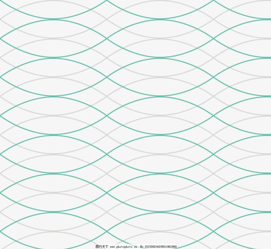彩色波浪线背景矢量图图片