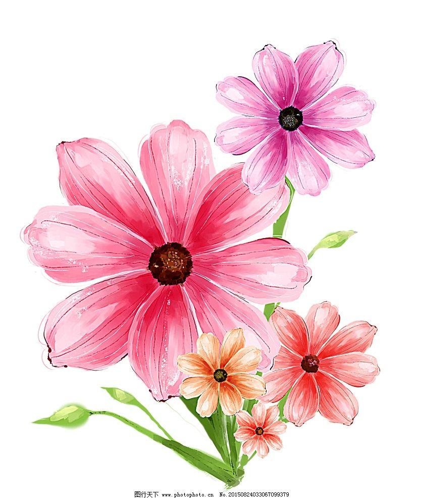 全好看又简单的花朵-花卡通图片大全