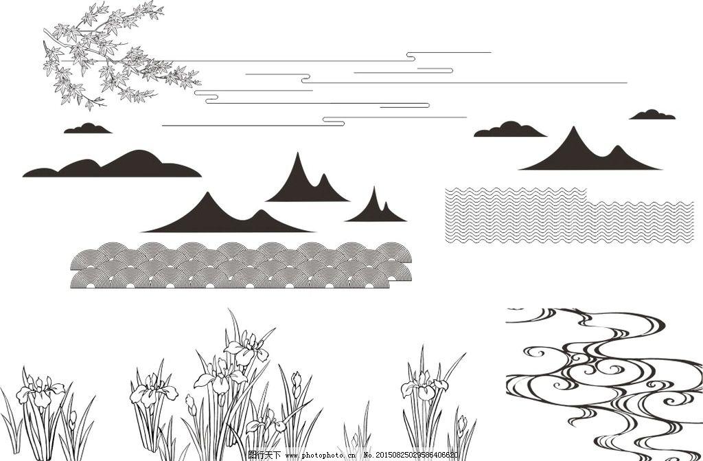 景观手绘图线条