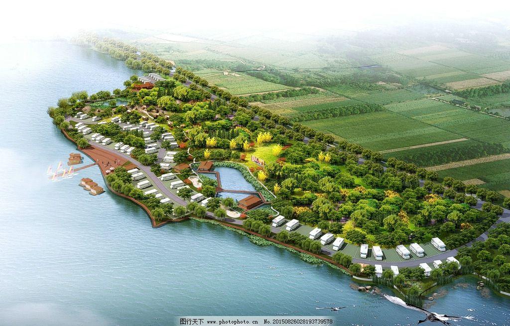 景点设计 环境设计 鸟瞰图 景观设计        园林设计  设计 环境设计