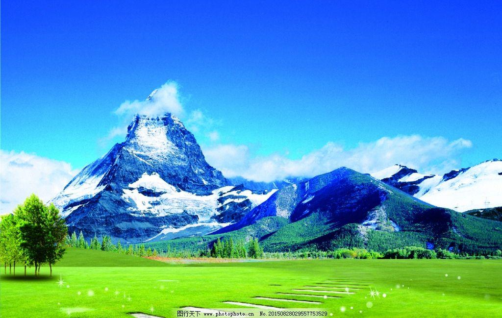 高山铁塔背景图片
