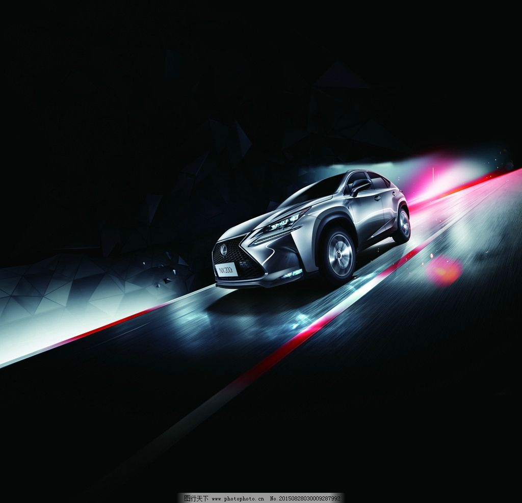 雷克萨斯汽车广告