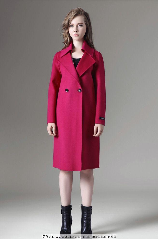 模特 美女 女模特 时尚大衣 羊绒大衣 摄影 人物图库 人物摄影 72dpi
