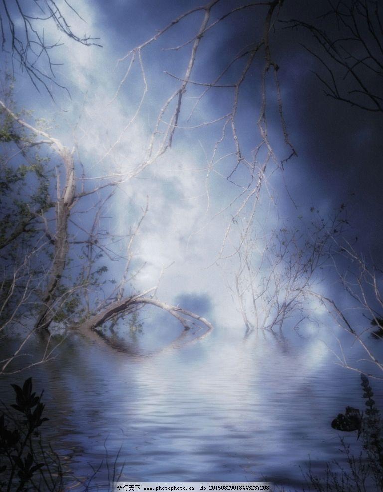 花园幻想 森林幻想 古罗马哥特式 背景图片 唯美 哥特风格 梦幻 炫彩