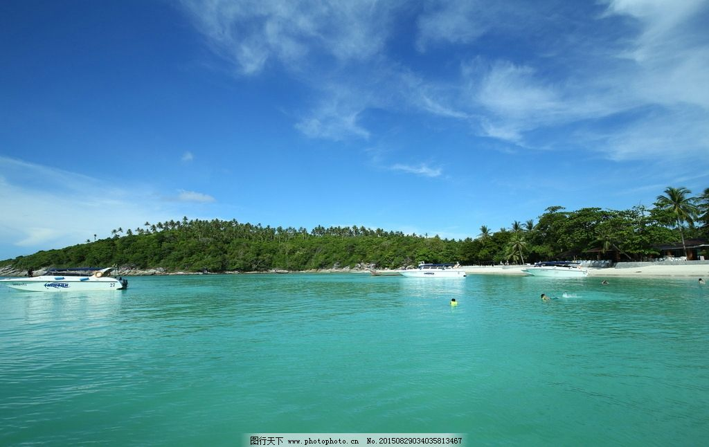 世外桃源 皇帝岛 普吉岛 海 蓝天 岛屿 天堂 度假 旅游 安逸 生活