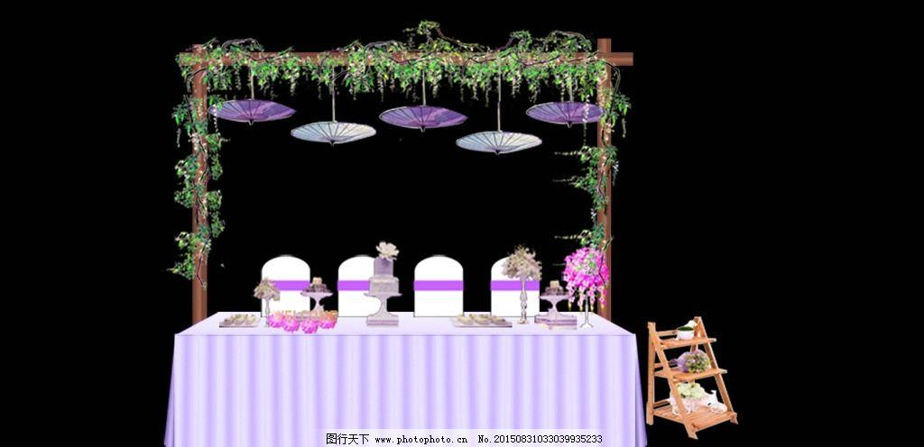 婚礼甜品区 甜品区效果图 户外婚礼 婚礼效果图 粉色婚礼 婚礼布置 甜