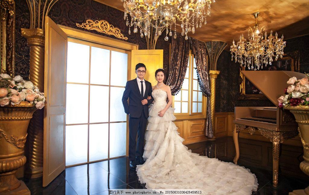 婚纱照 摄影 结婚照 浪漫 大气 豪华 欧洲 人物 人物图库 人物摄影图片