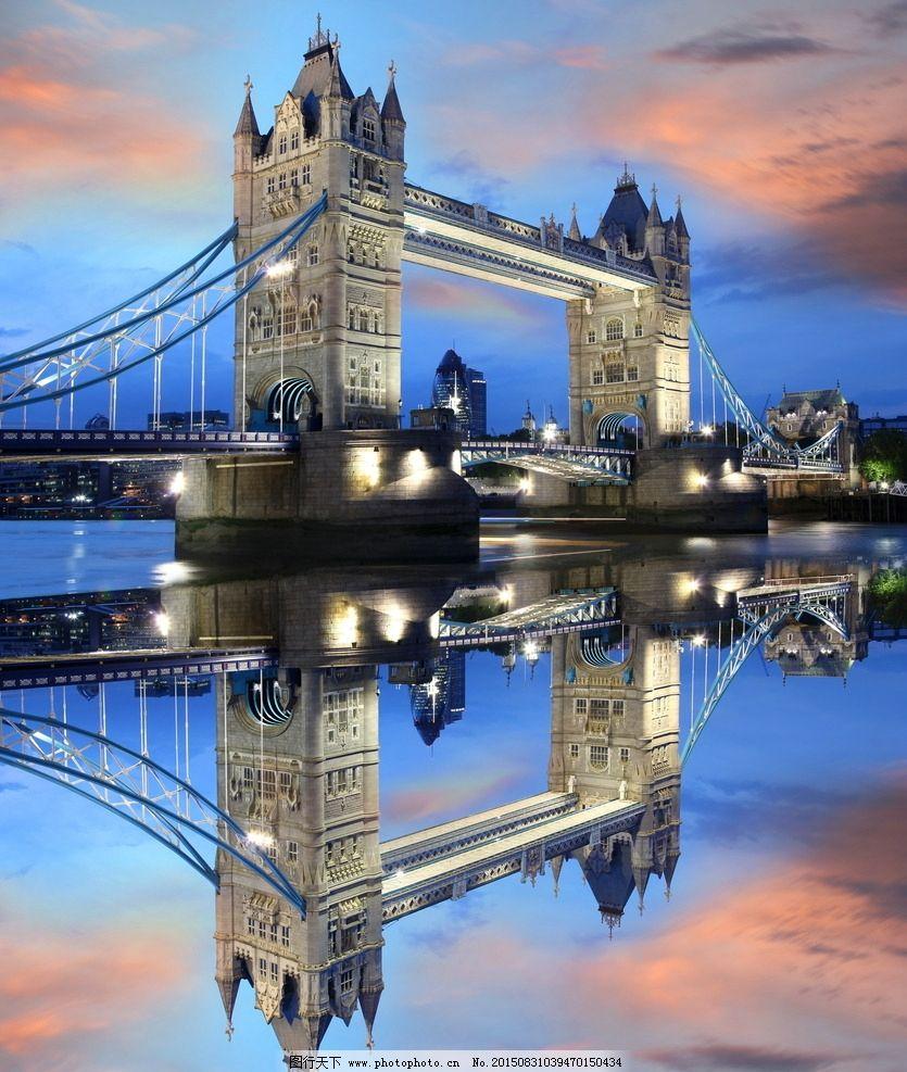 高清伦敦塔桥图片_建筑摄影